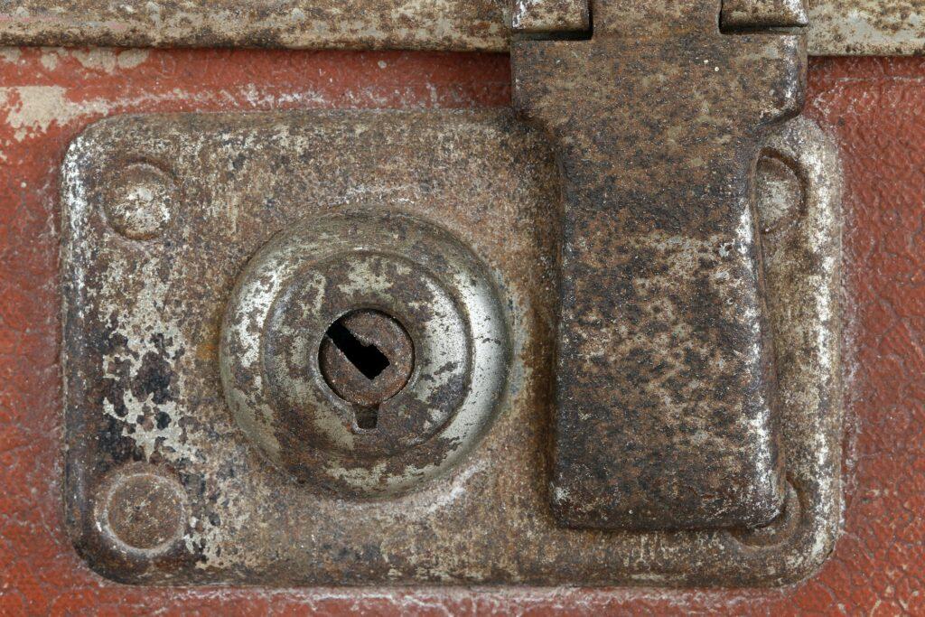 Old cashbox lock